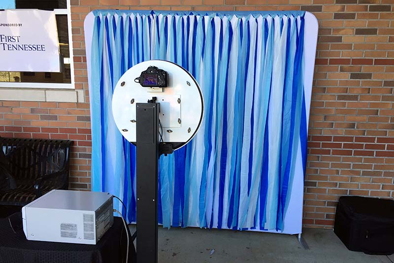 custom photo booth setup